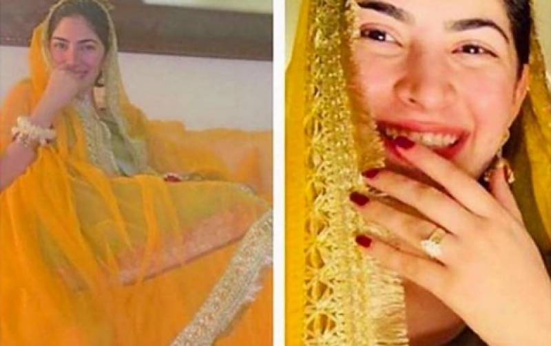 Naimal Khawar Khan looks radiant in pictures from her Mayoon