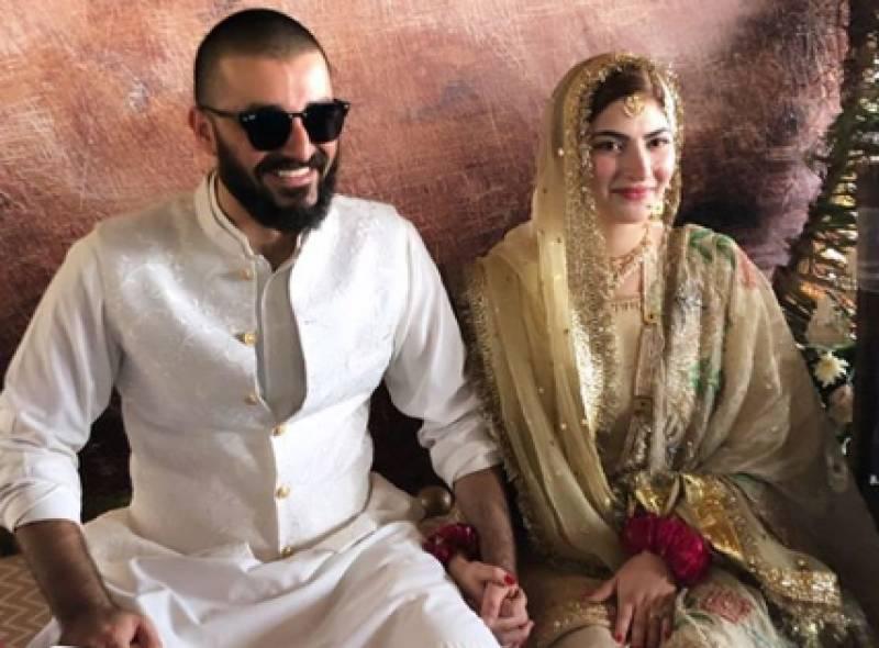 Hamza Ali Abbasi, Naimal Khawar Khan are officially married