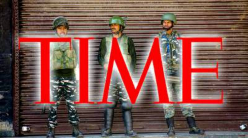 Time magazine laughs down India's claims of normalcy in Occupied Kashmir
