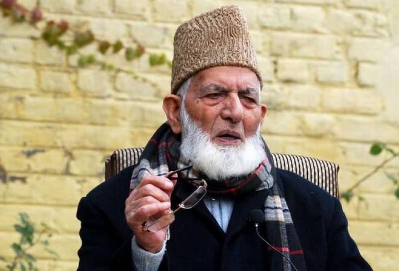 Top Hurriyat leader Geelani issues 'programme of action' as Kashmir crisis looms