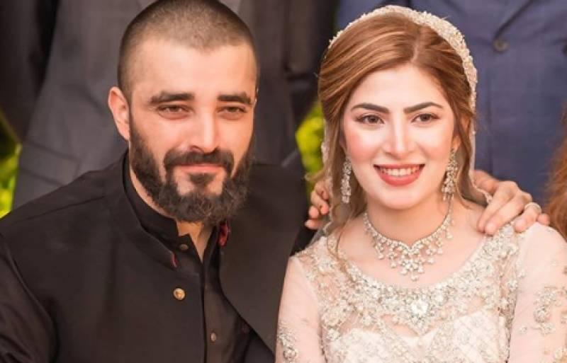All the details of Hamza Ali Abbasi and Naimal Khawar's Walima reception