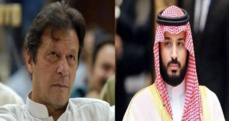 PM Imran, Saudi Crown Prince discuss situation in Occupied Kashmir