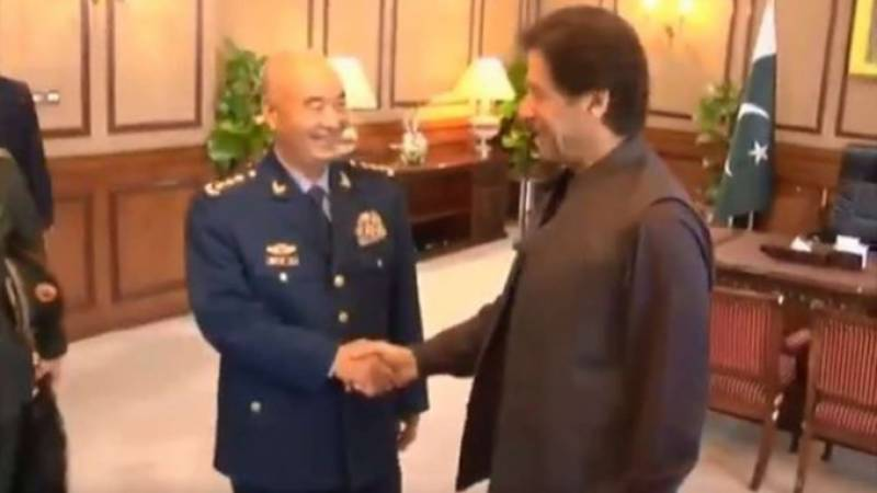 Top Chinese commander reaffirms full support to Pakistan