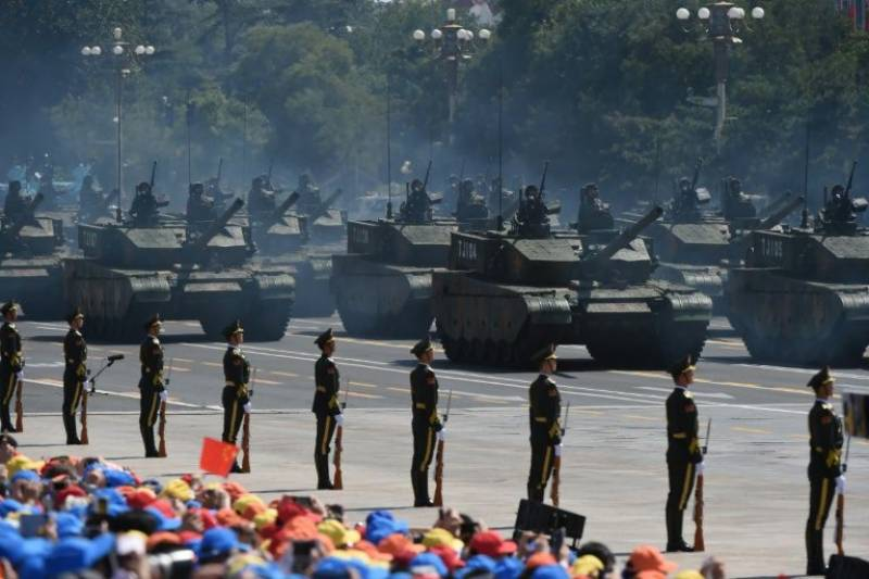 China to hold largest military parade in two decades to celebrate 70th National Day