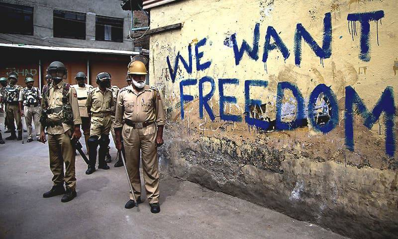 Kashmir dispute and Kashmiris: Right to self-determination under international law