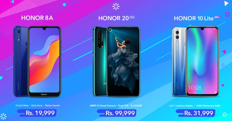 HONOR introduces three amazing smartphones for everyone in just a month