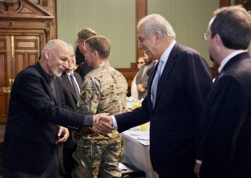President Ghani shown peace deal draft as Zalmay Khalilzad lands in Kabul