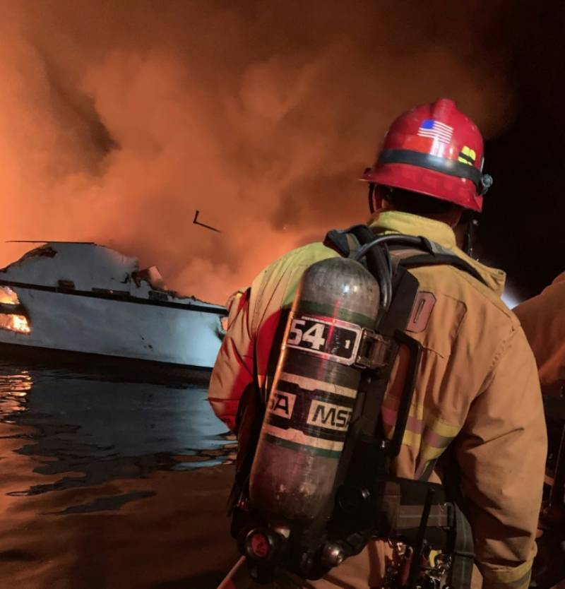 At least 25 killed after dive boat catches fire off California