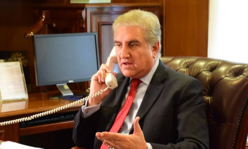 FM Qureshi talks to Bangladeshi, Iranian counterparts as lockdown in occupied Kashmir continues