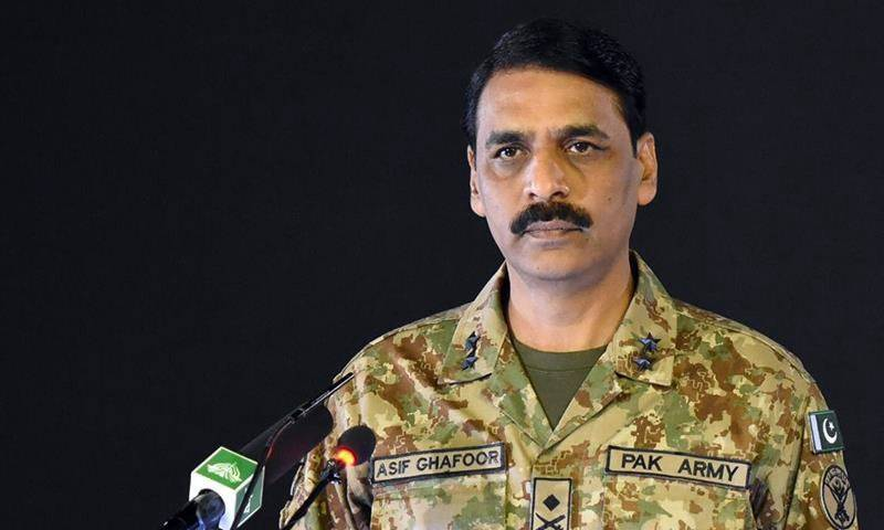 DG ISPR says Pak Army stands by Kashmiris, rules out deal on disputed valley