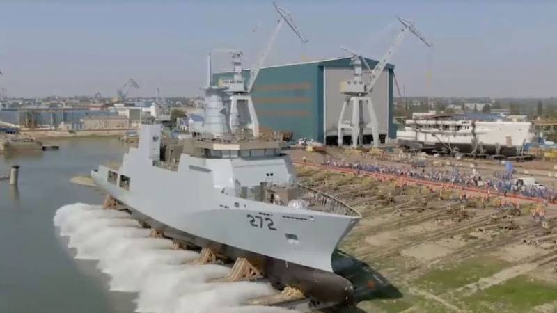 Pakistan Navy inducts second of two 2,300-ton corvettes made by Dutch shipbuilder