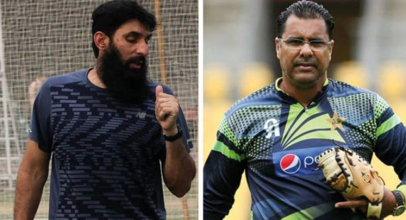 PCB appoints Misbah-ul-Haq as Pakistan cricket head coach, Waqar Younis as national team's bowling coach