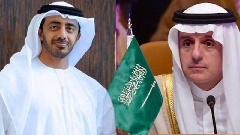 Saudi, Emirati FMs call on PM Imran in Kashmir-centred trip