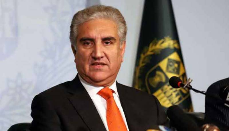 Terrible humanitarian crisis deepening due to curfew in Indian Occupied Kashmir: FM Qureshi