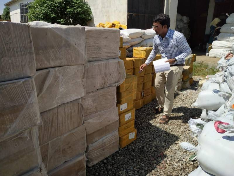 Indian goods seized as Customs Collectorate ramps up anti smuggling drive