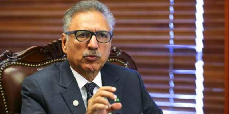 India does not want the world to see, hear & feel the resentment Kashmir has for India, says President Arif Alvi