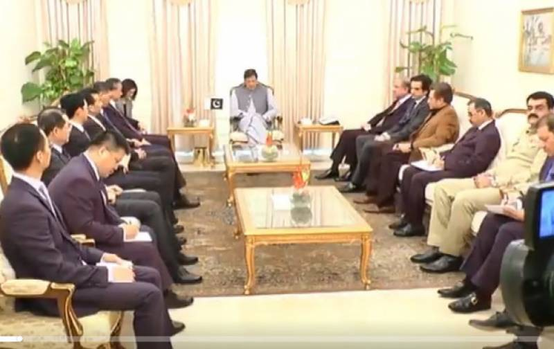 PM Imran, Chinese FM discuss bilateral and regional matters