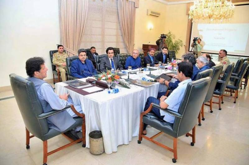 PM Imran constitutes high level committee to address Karachi issues