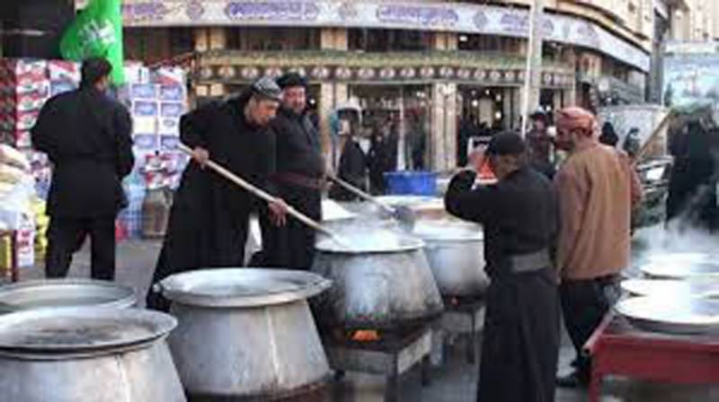 Trend of 'Niaz' distribution on Ashura still alive across country