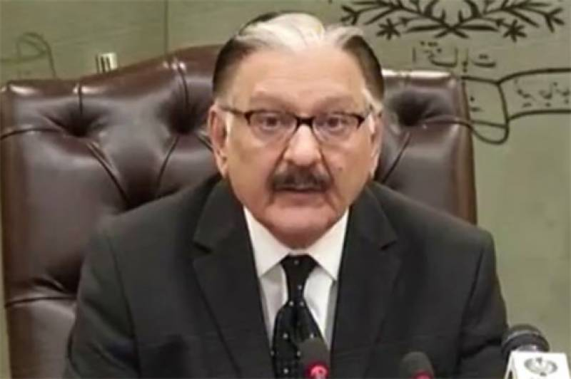 Govt to file reference against CEC Sardar Raza for breaching constitution
