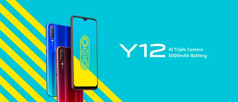 Vivo Y12 is a budget smartphone with 5000mAh bigger battery & AI triple cameras