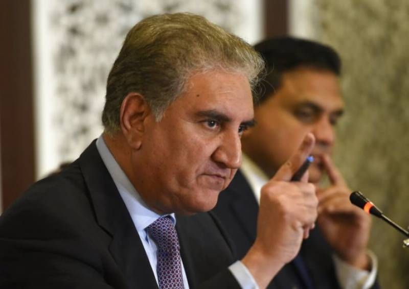 FM Qureshi rubbishes Indian army chief's threatening statement