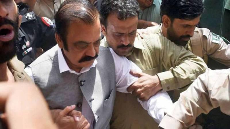 Rana Sanaullah's judicial remand extended till Sept 28 in narcotics case