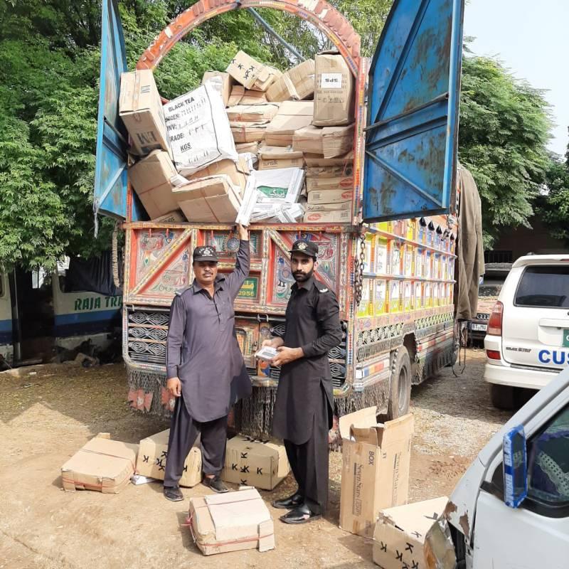 Rawalpindi anti-smuggling team seize goods worth billions; 5 gang members arrested