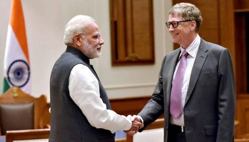 Bill & Melinda Gates Foundation under fire over award for India's Modi