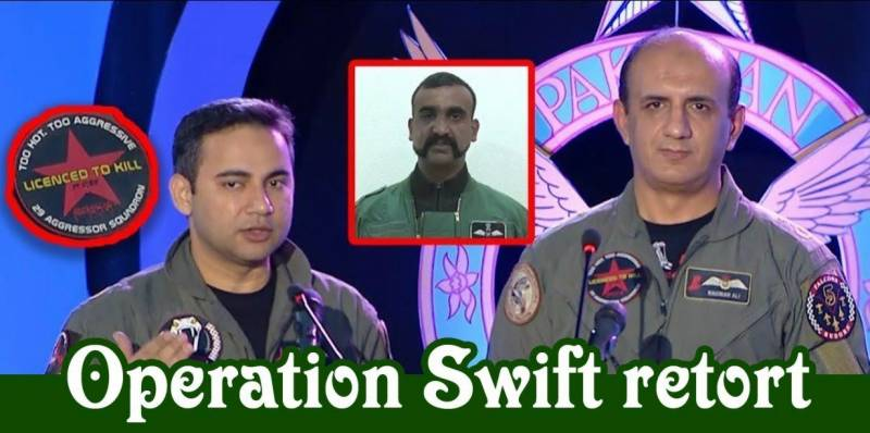 Hero Pakistani pilots who shot down Indian jets appear on national TV for the first time