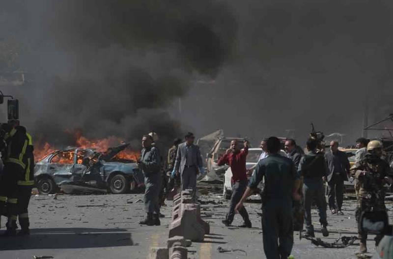 Taliban attacks kill 30 near President Ghani's election rally, US Embassy