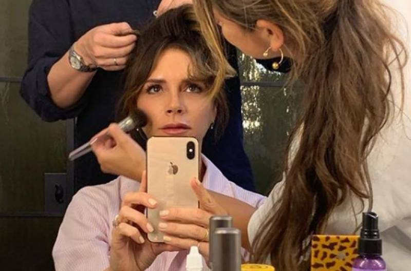 Victoria Beckham launches make-up line