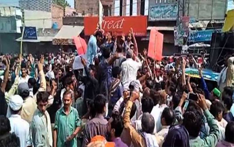Angry protests in Chunian over rape-murder of three minor boys