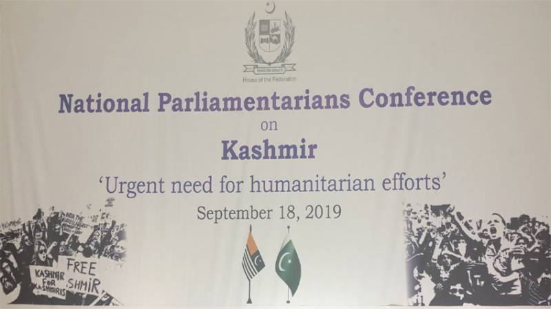 National Parliamentarians Conference on Occupied Kashmir today