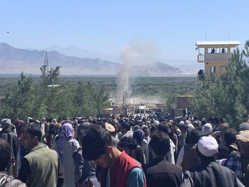 Air strike, suicide attack kill at least 50 in Afghanistan