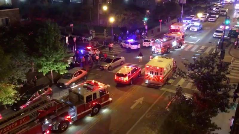 At least six wounded in Washington shooting