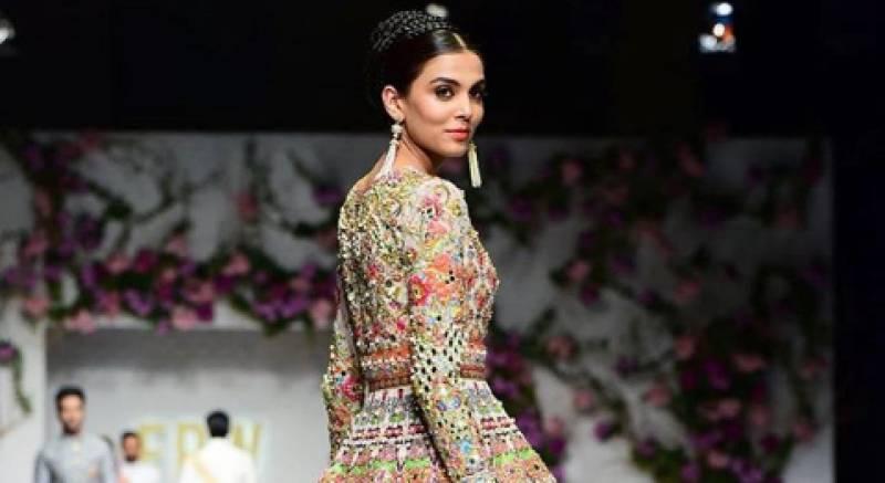 Mushk Kaleem expresses gratitude towards Italian designer for 'paying homage to Pakistan'