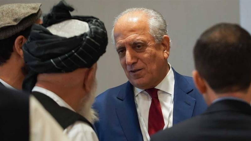 Afghan special envoy Khalilzad confirms Taliban talks 'dead'
