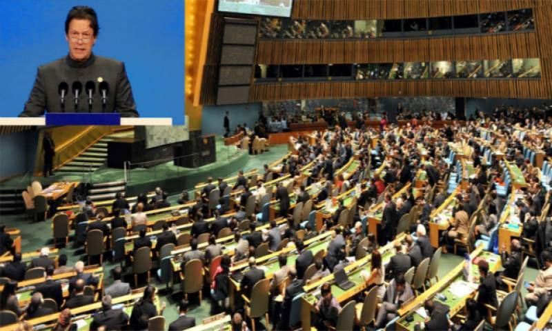 With a special focus on Occupied Kashmir, PM Imran to address UNGA next Friday