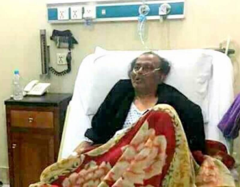 LAC executive director meets ailing comedian Amanullah Khan