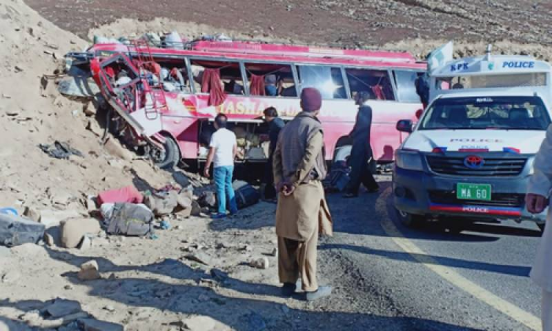 PM Imran, President Alvi express sorrow over Babusar Pass bus crash