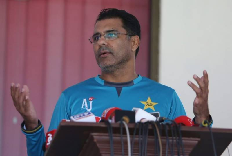 Waqar Younis to miss out first Pakistan v Sri Lanka ODI