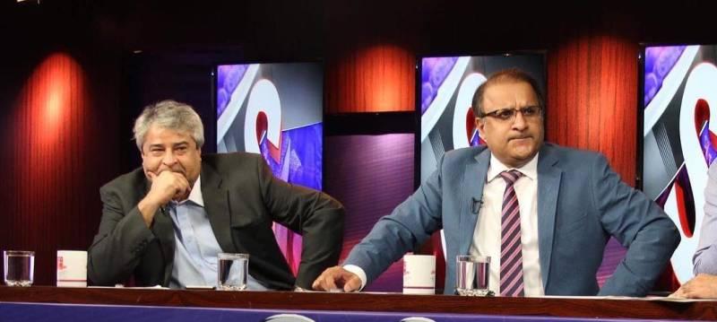 Rauf Klasra, Amir Mateen face shock shut of TV show 'Aap Kay Muqabil'