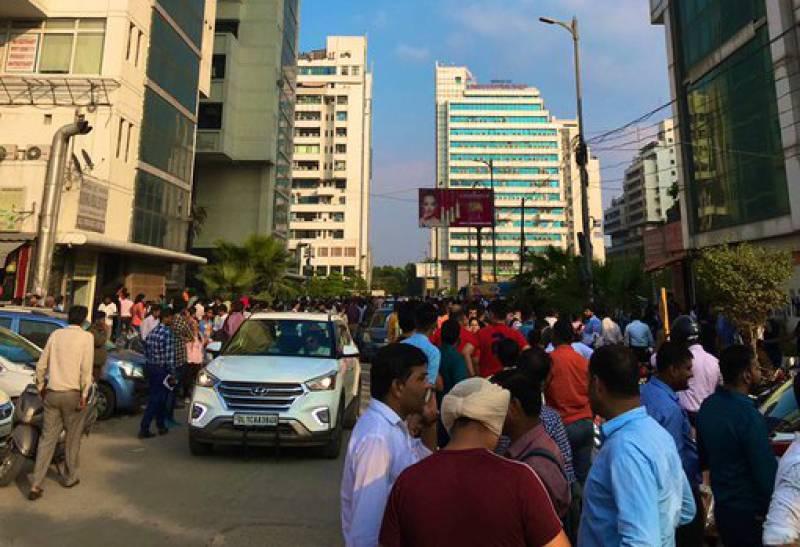 6.3 magnitude earthquake shakes north India