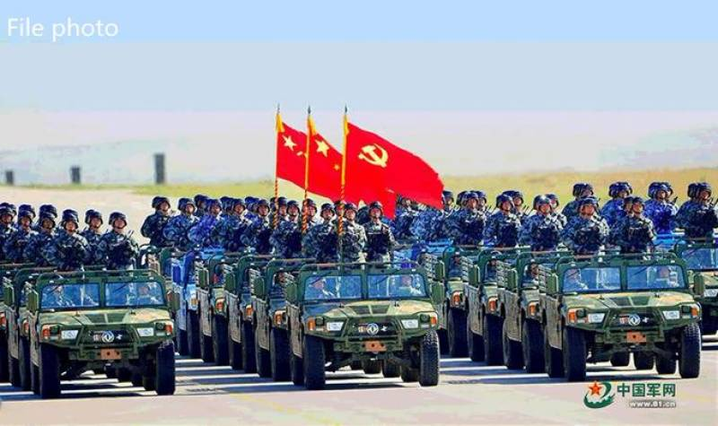 China to hold biggest military parade on upcoming National Day
