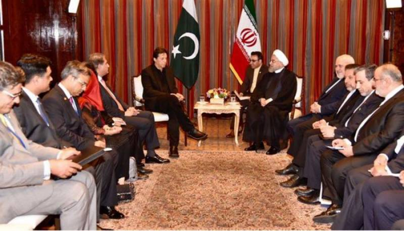 PM Imran meets Iranian, Turkish presidents on sidelines of UNGA session in New York