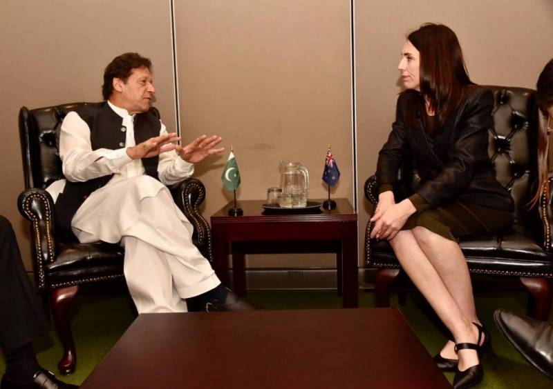 PM Imran apprises New Zealand counterpart about Indian human rights violations in IOJ&K