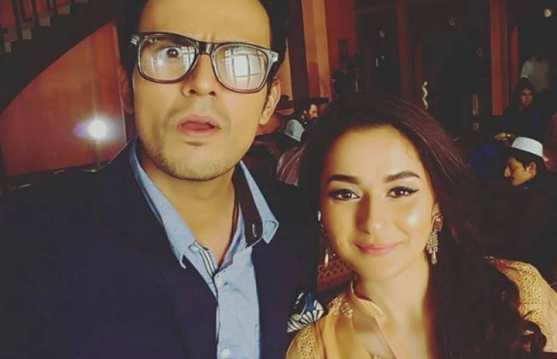 Usman Mukhtar, Hania Amir team up for an upcoming TV project