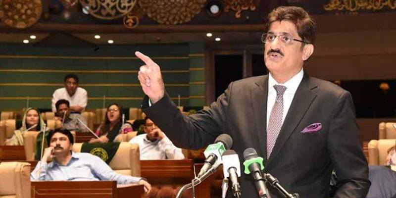 Party's prerogative to retain or remove CM, says Murad Ali Shah on arrest rumours