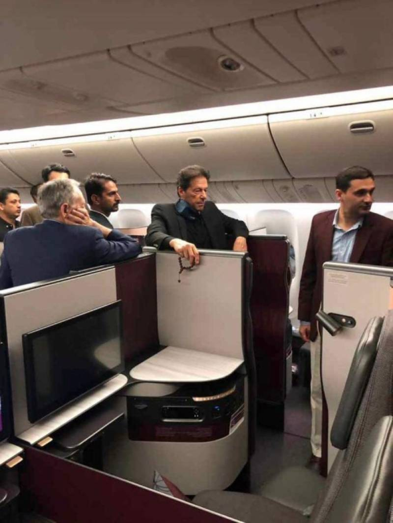 Plane carrying PM Imran and Pakistani delegates makes emergency landing in New York